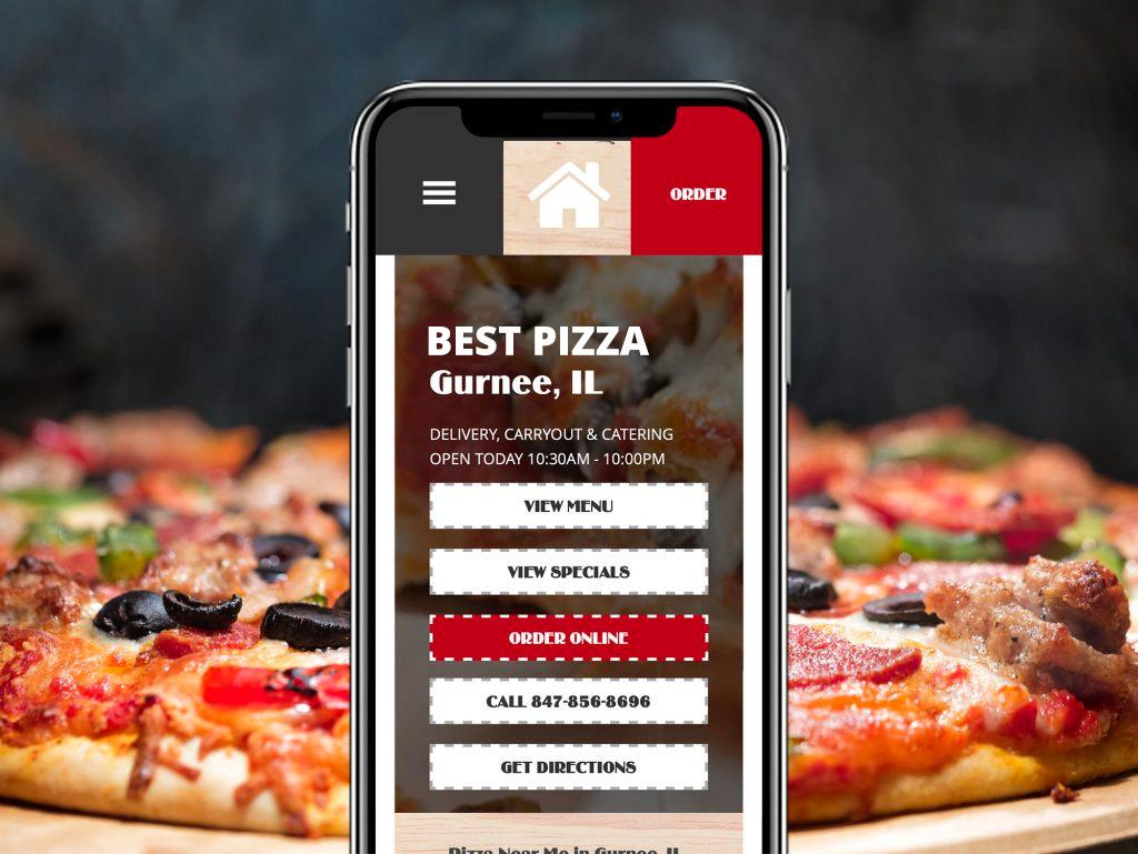 Local Pizzeria Web Design Case Study