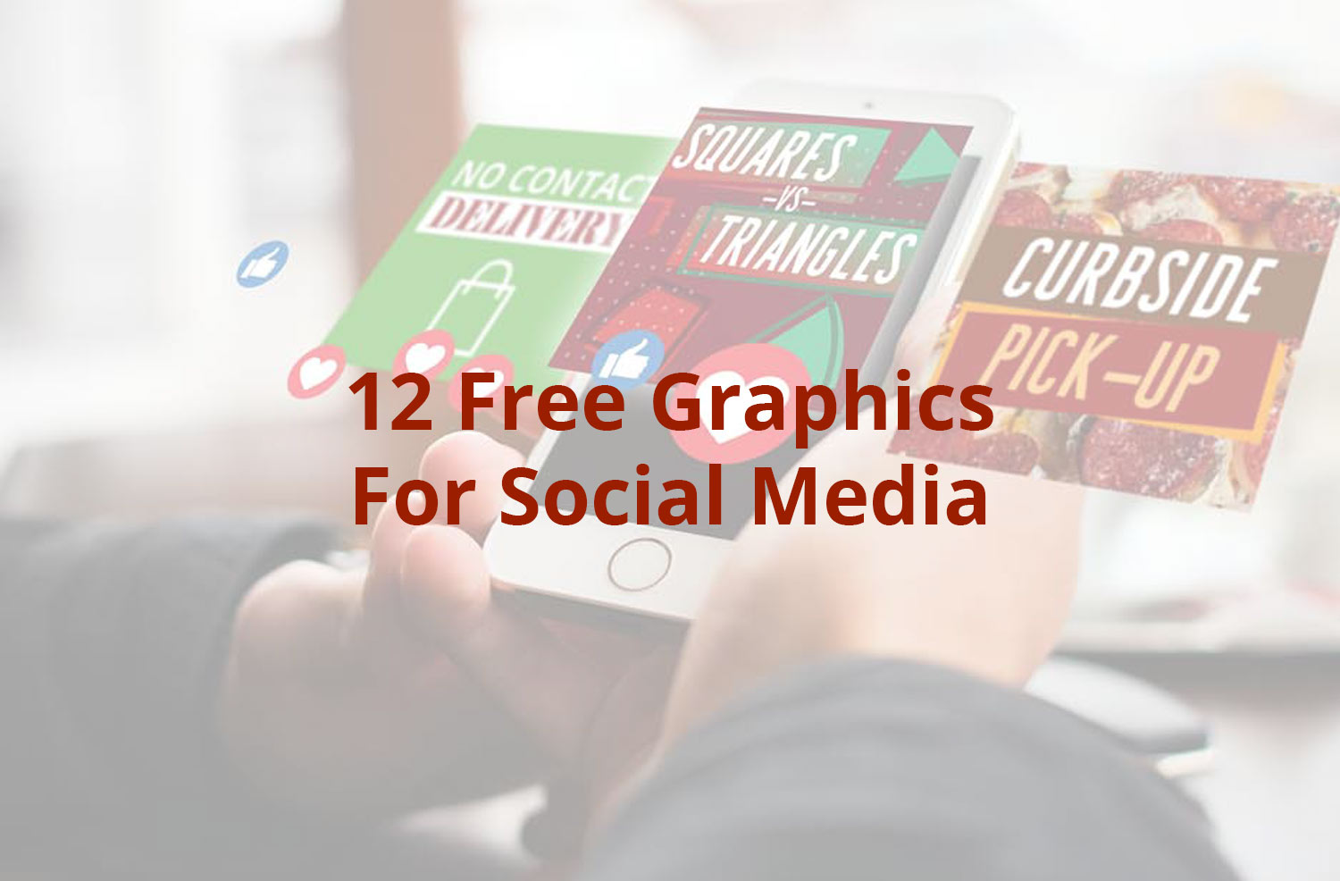12 Free Graphics For Your Social Media