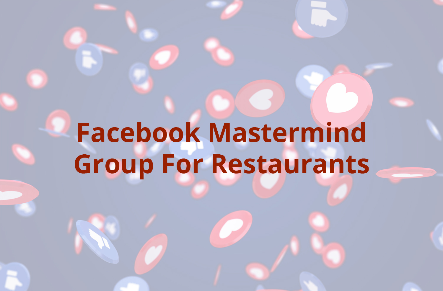 Free Facebook Group for Pizza Businesses